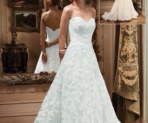 diamonds, dress, and laces image