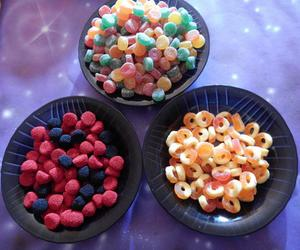 candy, colours, and food image