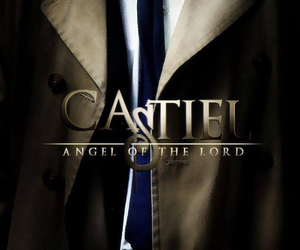 castiel, angel, and supernatural image