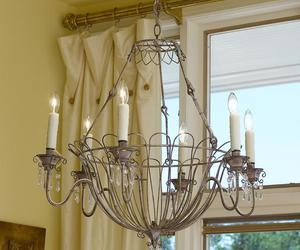 shabby chic chandelier, contemporary chandeliers, and chandelier lamp shades image