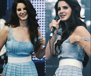 blue dress, concert, and sing image