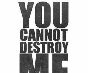 destroy, quotes, and me image