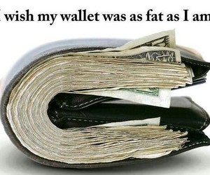 fat and wallet image