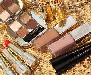 dolce gabbana and make-up image