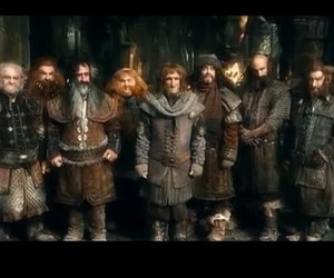 bilbo, dwarfs, and the hobbit image