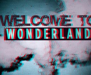 wonderland, welcome, and smoke image