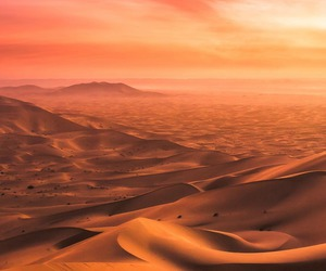 colorful, desert, and infinite image