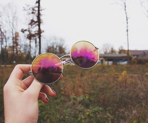 glasses and grunge image
