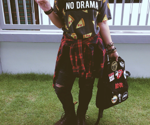 bands, grunge, and hipster image