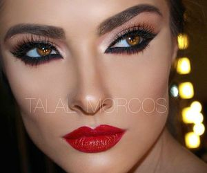 beautiful, makeup, and bright image