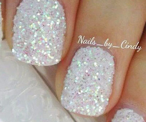 nail, nails, and sweet image