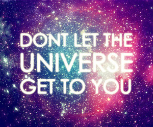 quote and universe image