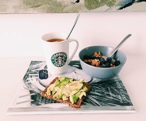 avocado, breakfast, and fruit image