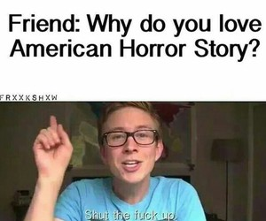 asylum, american horror story, and murder house image