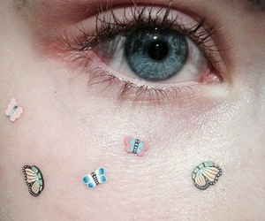 eyes, grunge, and eye image