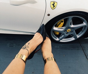 car, shoes, and luxury image