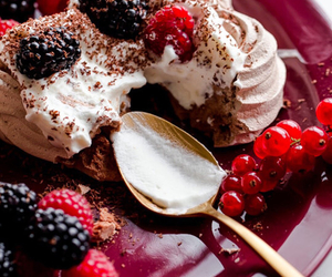berries, cream, and desserts image