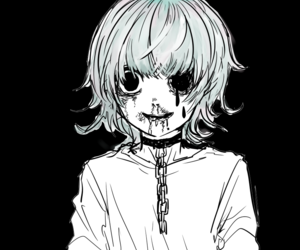 anime, tokyo ghoul, and blood image