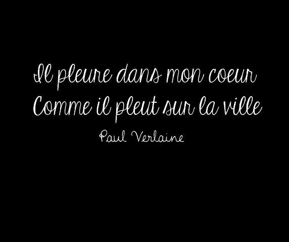 Une Tres Belle Citation Extraire Du Poeme De Paul Verlaine