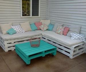 pallet furniture and pallet outdoor furniture image