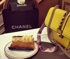 chanel, fashion, and cake image