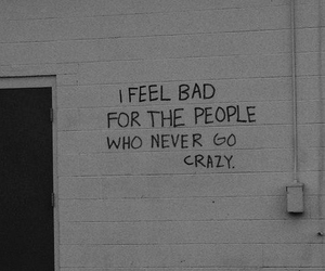 crazy, quotes, and grunge image