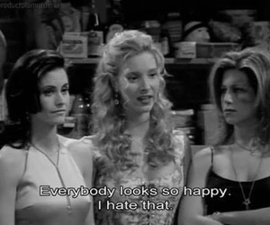 friends, happy, and quotes image