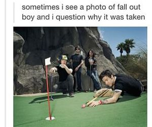 fall out boy and lol image