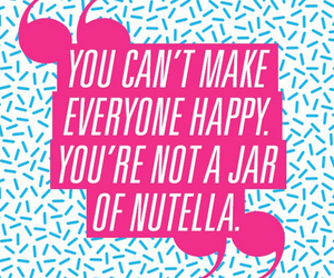 nutella and quote image