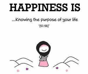 life, happiness, and muslim image