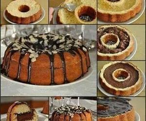 cake, chocolate, and diy image