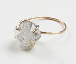 crystal, minimalist, and ring image