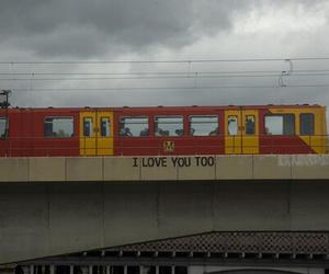 love, train, and grunge image
