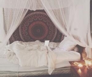 bedroom, indie, and room image
