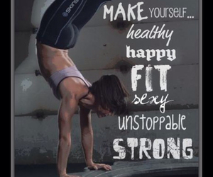 strong, fitness, and health image