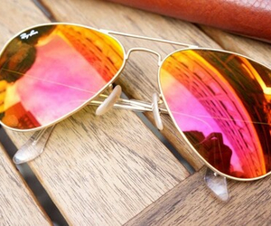 sunglasses, summer, and pink image
