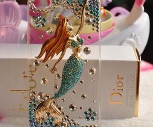 ariel, dior, and mermaid image