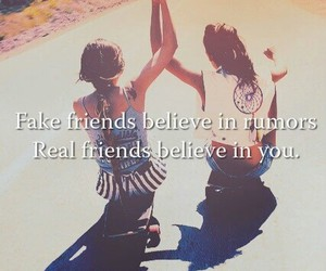 friends, believe, and friendship image