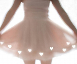 ballerina, light, and wall art image