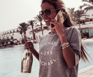 champagne, fashion, and iphone image