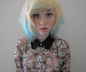 cute girl, pale skin, and sexual image