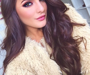 brunette, makeup, and casey image