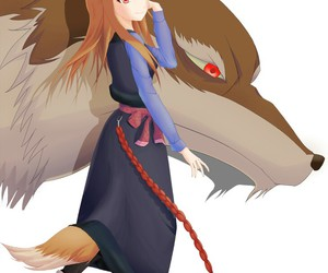 anime, horo, and spice and wolf image
