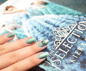 blue, books, and nails image