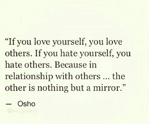hate, mirror, and Relationship image