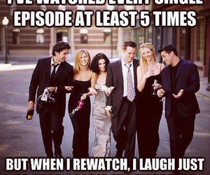 friends, funny, and tv image