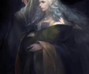 thranduil, fantasy, and Legolas image