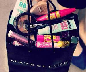 makeup, Maybelline, and make up image