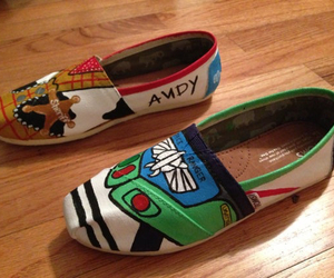 disney, toms, and woody image