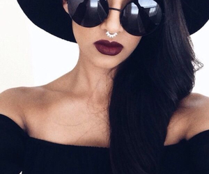 black, cool, and maroon image